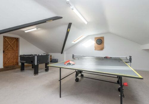Luxury holiday home Beck Cottage Games room