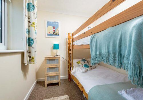 Holiday home new forest full size bunk beds