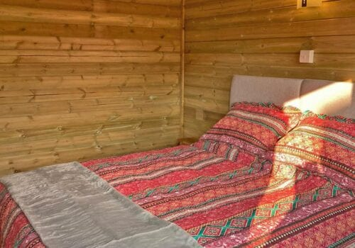 Fully insulated Glamping hut