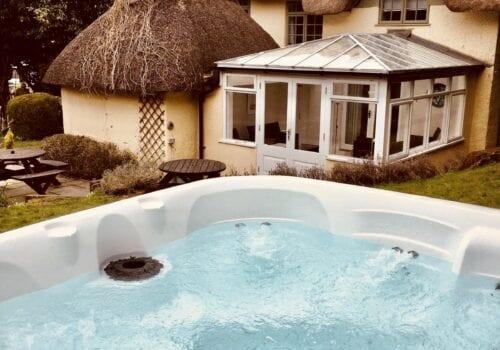 Hot Tub at Beck Cottage