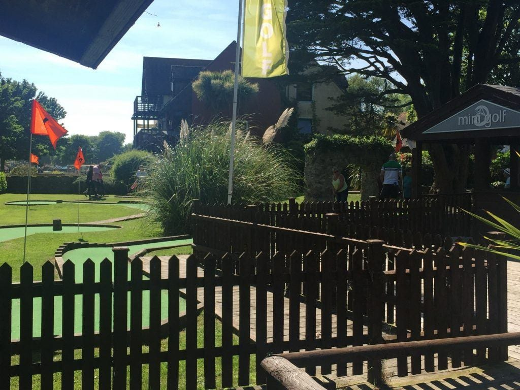 Ccrazy Golf is just around the corner from our self catering holiday let Quay Corner in Christchurch Dorset