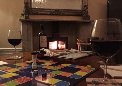 Why not enjoy a board game in the evening