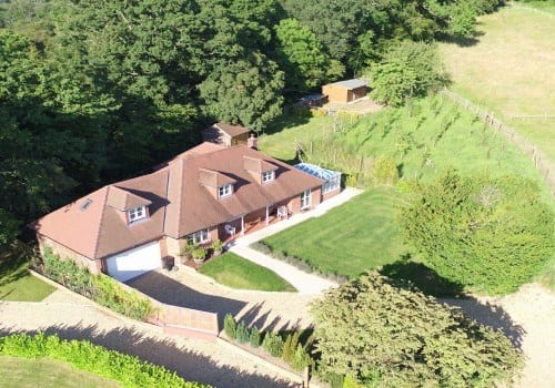Self catering property with large paddock