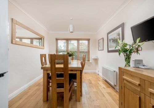 Mews Hill Self Catering Breakfast area