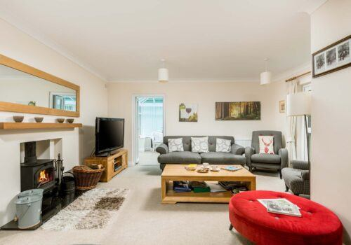 Mews Hill New Forest Holiday home Spacious lounge