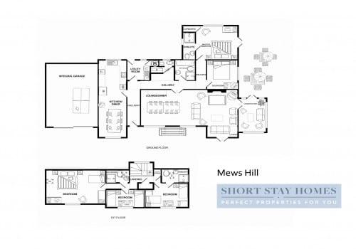 New Forest Cottage floor plan