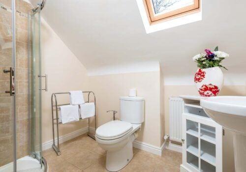New Forest Cottage 1st floor shower room