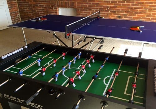 For family fun try out the games room