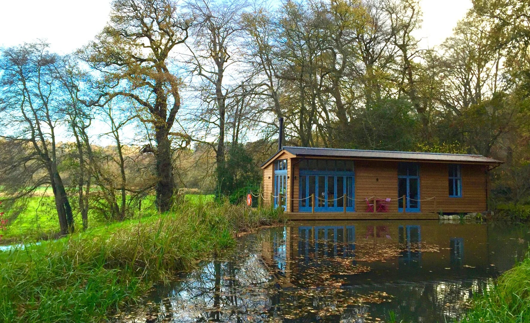 Riverside Lodge New Forest 2 Bedrooms Tree Tent