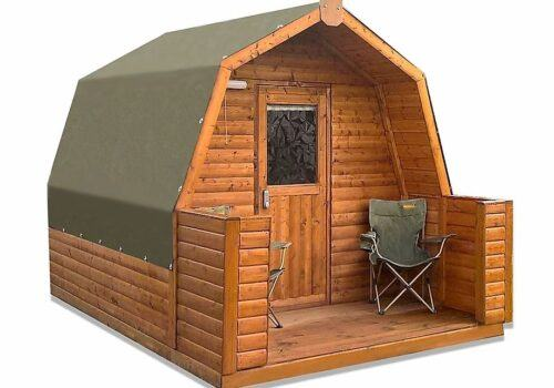 Glamping Pod new for our Rivreside Lodge in the New Forest