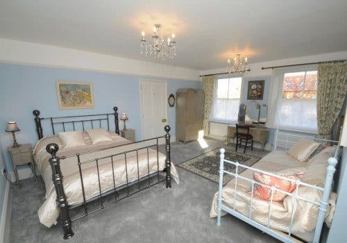 Lovely family room in luxury holiday home in Dorset