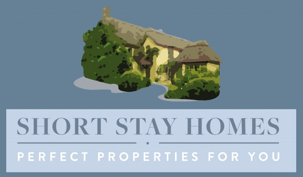 Short Stay Homes logo for footer