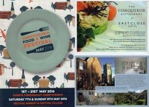 Christchurch food festival advert