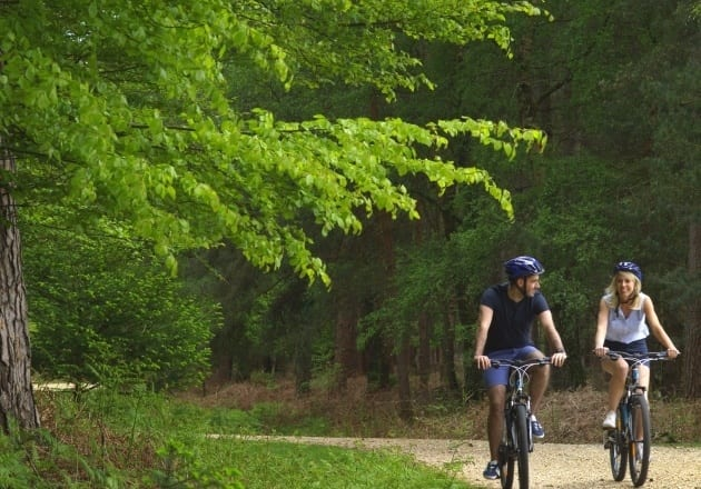 Explore the countryside on two wheels