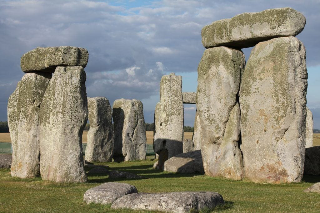 Stonehenge on a beautifull sunny day
