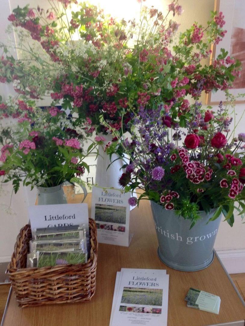 Three beautiful displays from Littleford Flowers