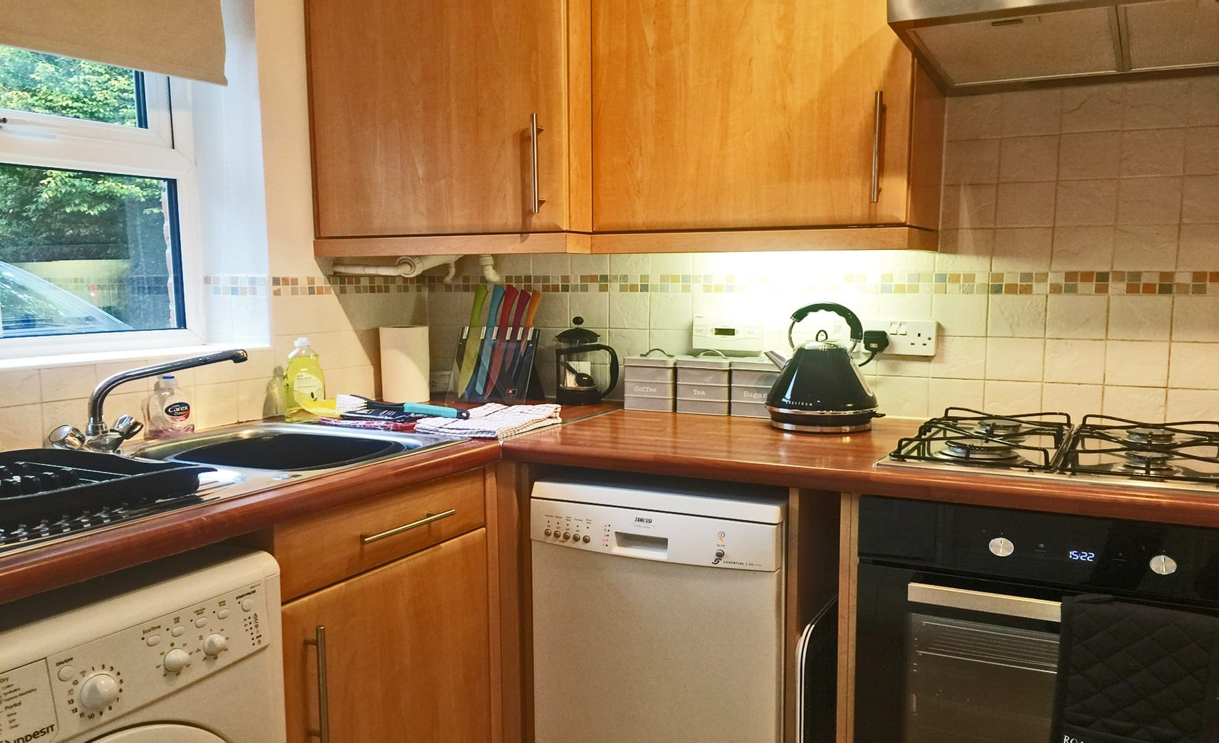 Riverview fully equipped kitchen