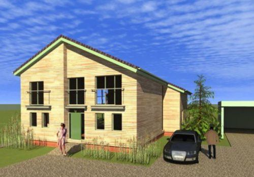 Artists impression of Front Aspect