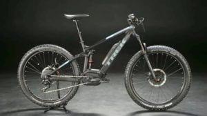 E mountain bike for hire