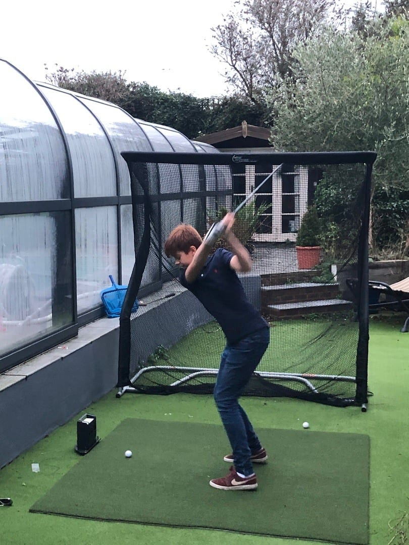 Skytrak Golf Simulator available for hire