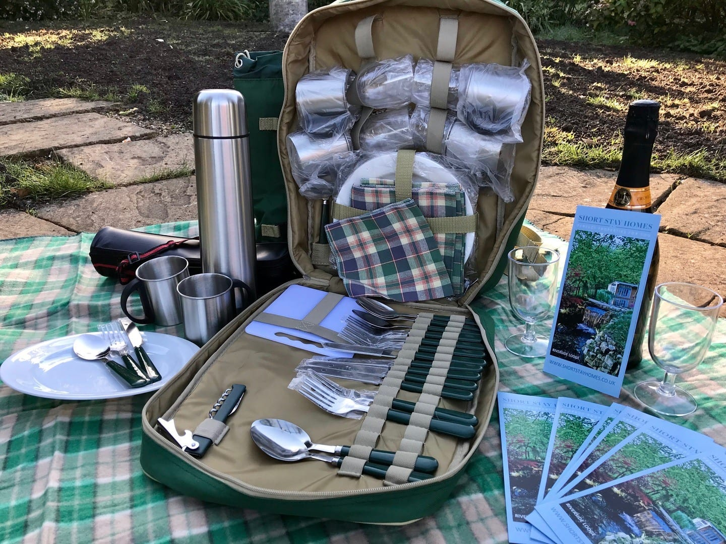 go for a beautiful walk around the New forest and take a picnic with you, well equipped picnic bag supplied for you to enjoy