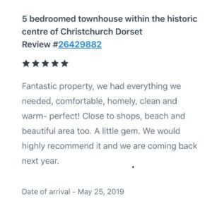 5* HomeAway review