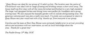 Email review for Quay House