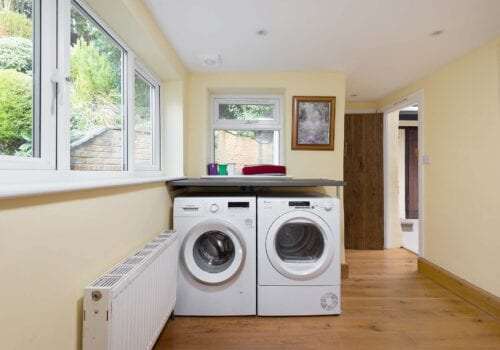 New Forest Cottage laundry room Forest Drove