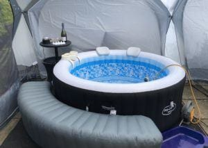 Hot tub for hire