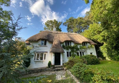 Pretty thatched cottage with picturesque gardens surrounding this rural retreat holiday cottage in the New Forest