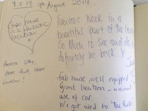 collection of reviews for quay house