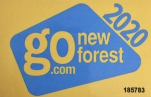 New Forest Go Card 2020