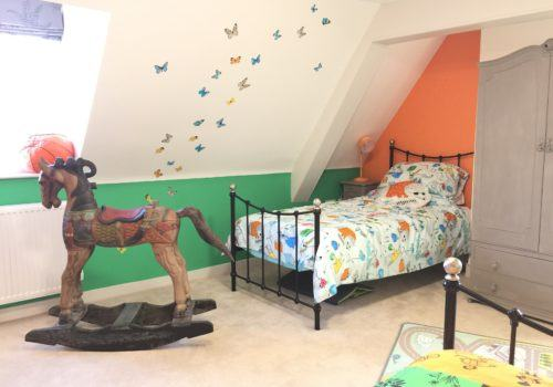 Birght and fun childrens bedroom in Dorset holiday let