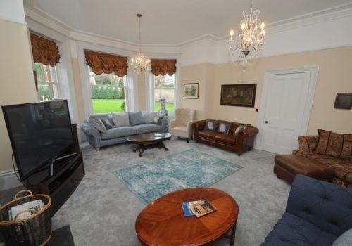 A sitting room with loads of space and style