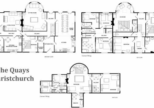 Floorplan to The Quays, Short Stay Homes