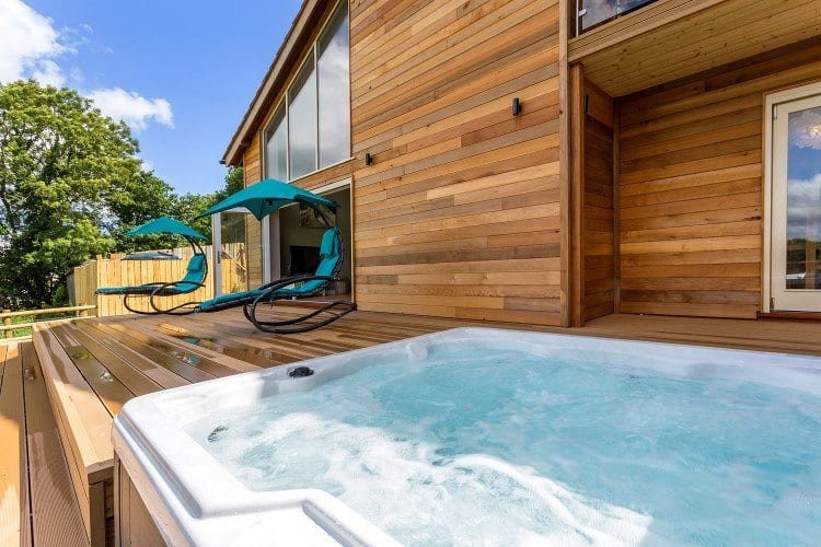 Sit back relax in your holiday cottages with hot tubs