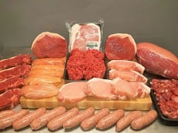 order your finest cut of fillet or try one of our finest cumberland sausages