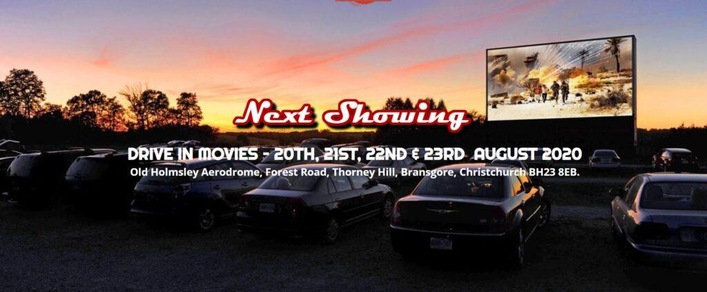 Drive in movies when staying at Short Stay homes