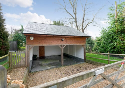 Garage with games room in the New Forest