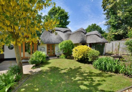 Self catering thatched cottage in Dorset