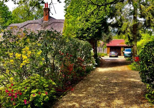 Driveway to Galtons Cottage